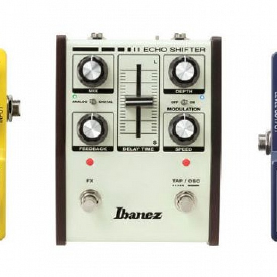 Новые педали mini Tremolo и Flanger от Ibanez | A&T Trade