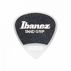 Ibanez PA16XSG-WH Flat Pick (50pcs/set) Sand Grip Model набор медиаторов, 50 шт.