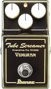 "IBANEZ TUBE SCREAMER + VEMURAM ""JAN RAY"" OVERDRIVE – фото 1"